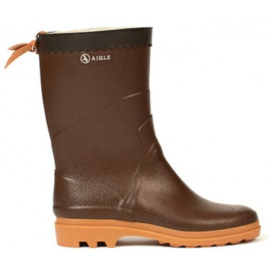 САПОГИ AIGLE BISON M MARRON