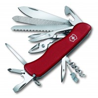 Нож перочинный Victorinox WorkChamp (0.9064) 111 мм 21 функций красный